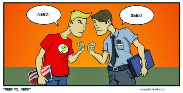 Geeks vs nerds difference